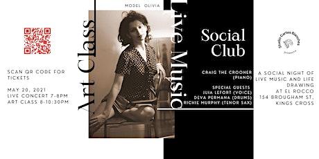 Art Class, Live Music, Social Club at El Rocco tickets