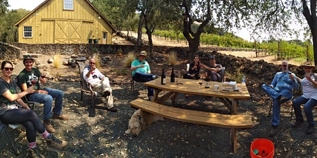 Outdoor tasting at Zeka Vineyards in Bennett Valley Sonoma - Sun 7/4 tickets