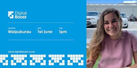Digital Boost Workshop with Digital Ambassador - Elizabeth Marie-Nes tickets