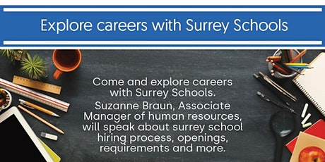 Explore Careers with Surrey Schools tickets