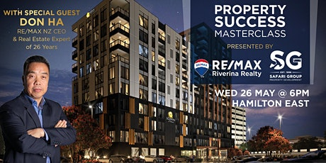 Property Success Masterclass with Don Ha & RE/MAX Riverina Realty tickets