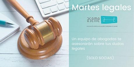 El martes legal ASEME entradas