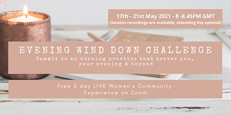 Evening Wind Down Challenge  - Commit To An Evening Practice tickets