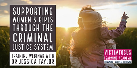 Supporting women and girls through the criminal justice system tickets