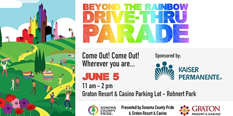 Sonoma County Pride's Beyond The Rainbow - Drive-Thru Parade tickets