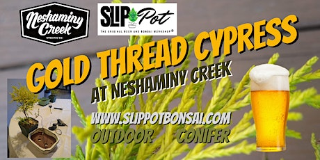 Gold Thread Cypress Bonsai at Neshaminy Creek tickets