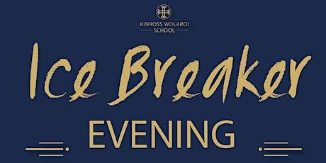 THE KINROSS WOLAROI SCHOOL ANNUAL ICE BREAKER EVENING tickets