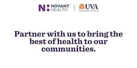 Novant Health UVA Virtual RN Career Fair tickets