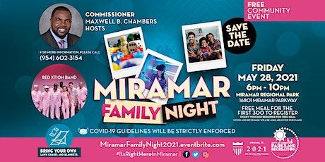 Miramar Family Night tickets