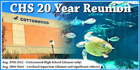 Cottonwood High School 20 Year Reunion tickets