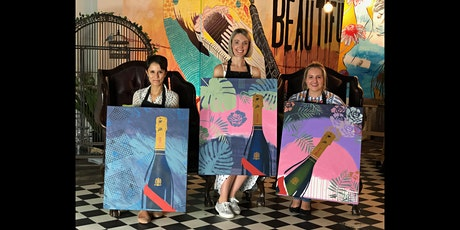Mumm Champagne Paint and Sip Brisbane 12.6.21 tickets
