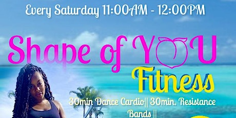 SHAPE OF YOU_FITNESS tickets