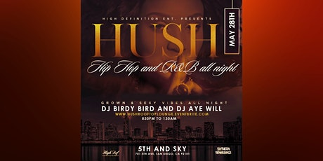 HUSH: Rooftop Lounge tickets