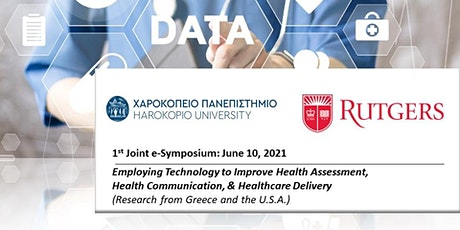 1st Joint e-Symposium: Employing Technology to Improve Health tickets