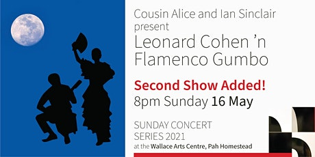*Second Show Added* – Cousin Alice and Ian Sinclair present Leonard Cohen tickets