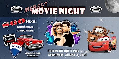 MCREST Movie Night tickets