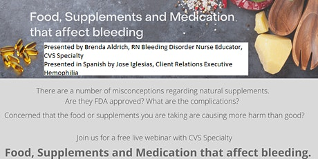 Nutrition:  Foods,  supplements, and medications that affect bleeding tickets