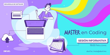 Sesión Informativa Master en Coding 10-6 boletos