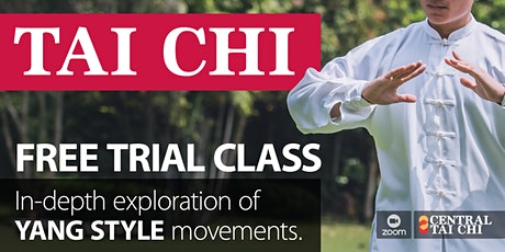 YANG-STYLE TAI CHI • Trial Class tickets