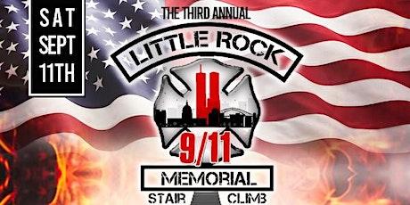 The 3rd Annual Little Rock 9/11 Memorial Stair Climb tickets