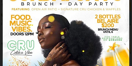 SUNDAY FUNDAY BRUNCH + DAY PARTY AT CRU tickets