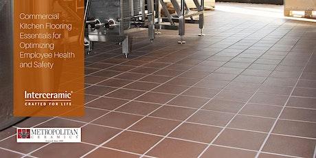 Commercial Kitchen Flooring Essentials tickets