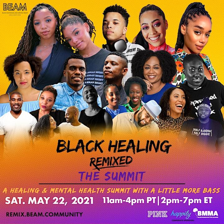 BEAM Black Healing Remixed: The Summit image