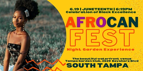 AfroCAN Fest: Night Garden Experience tickets