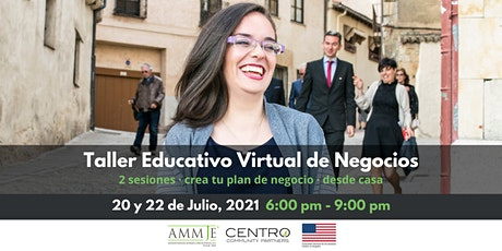 Taller Educativo Virtual de Negocios. boletos