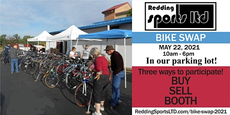 REDDING BIKE SWAP 2021 tickets