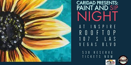 Paint and Sip at Inspire Rooftop tickets