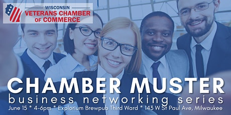 Chamber Muster -- Business Networking Series tickets
