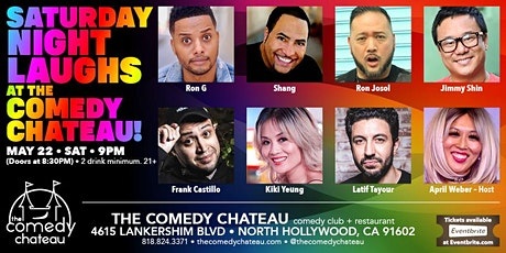Saturday Night Laughs at The Comedy Chateau! 9PM! tickets