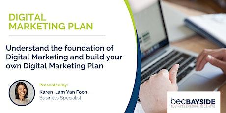 Digital Marketing Plan - Digital Transformation Workshop bilhetes