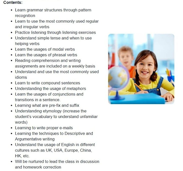 IELTS Course with TAEASLA! (USD $4.99/class) (10 classes in total) image