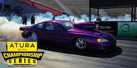 The ATURA Blacktown NSW Drag Racing Championship RD 5 tickets