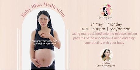 Baby Bliss Meditation tickets