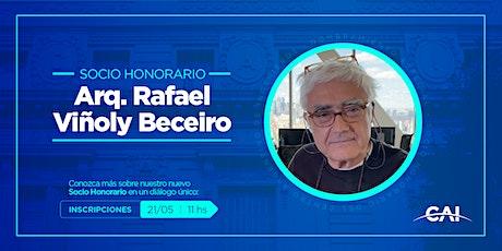 #SociosHonorarios: Arq. Rafael Viñoly Beceiro entradas