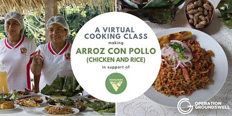 Learn to Cook Arroz con Pollo (Rice and Chicken) with Ecoaldeas Peru! tickets