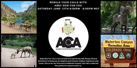 Adaptive & Inclusive ReWild Your Child with Abby Dew  at Waterton Canyon tickets