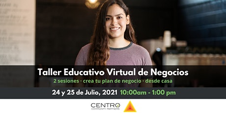Taller Educativo Virtual de Negocios boletos