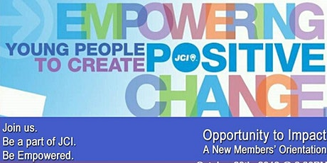 JCI New Member Orientation tickets
