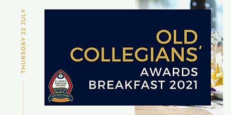 St John's Old Collegians' 2021 Awards Breakfast tickets