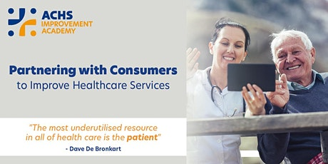 Partnering with Consumers to Improve Healthcare Services tickets