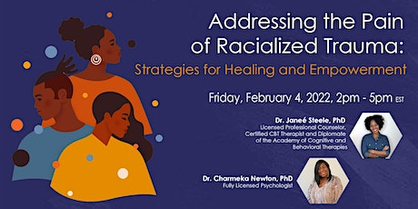 Addressing the Pain of Racialized Trauma tickets