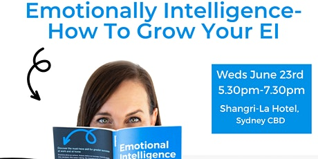 Emotional Intelligence- How to Grow Your EI tickets