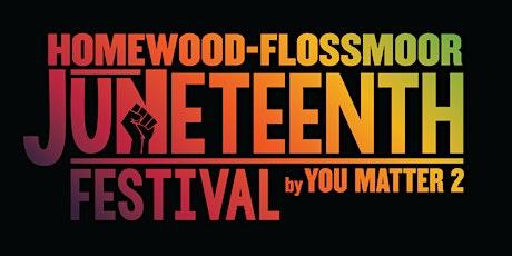 Homewood-Flossmoor Juneteenth Festival tickets