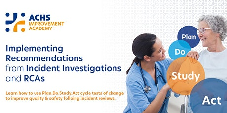 Implementing Recommendations from Incident Investigations and RCA's tickets