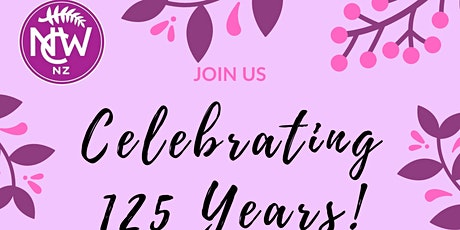 High Tea to celebrate 125 years of Suffrage in NZ tickets