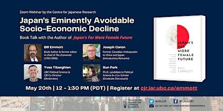 Japan's Eminently Avoidable Socio-Economic Decline tickets